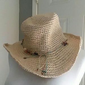 Old Navy beat it straw hat